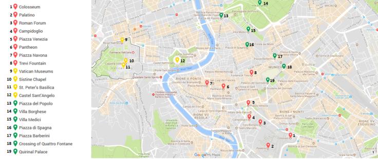 Rim-označen zemljevid
